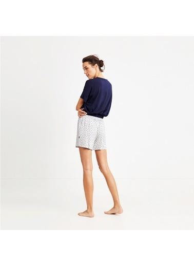 Nautica W106SORTTK.LACI Nautıca Kadın Lacivert Pijama Takımı Lacivert